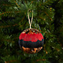 Buy John Lewis Large Feather Bauble, Red Online at johnlewis.com