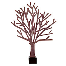 Buy Design Ideas Black Sherwood Tree, Small Online at johnlewis.com