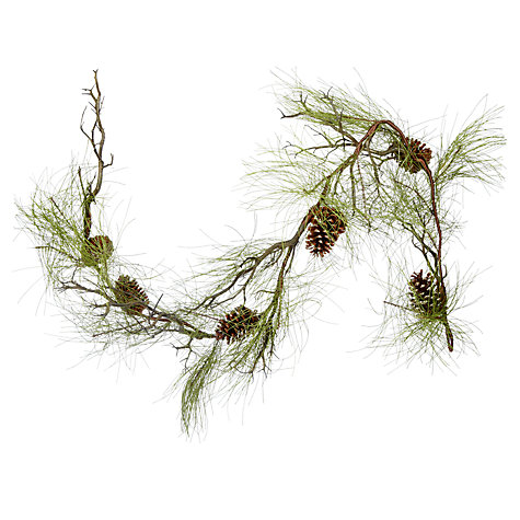 Buy John Lewis Pine Garland, 1.8m Online at johnlewis.com