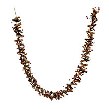 Buy John Lewis Red Berry Woodland Garland Online at johnlewis.com