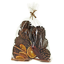 Buy John Lewis Scented Pine Cone Bag Online at johnlewis.com