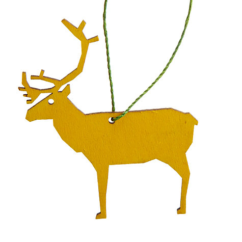 Buy Design Ideas Assorted Bright Animal Tree Decorations, Set of 4 Online at johnlewis.com