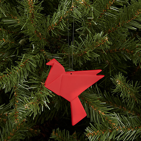 Buy House by John Lewis Origami Bird Tree Decoration Online at johnlewis.com
