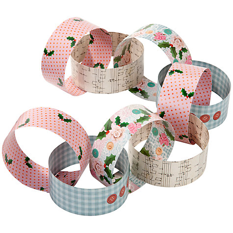 Buy Talking Tables Very Vintage Christmas Paper Chains, Multi Online at johnlewis.com