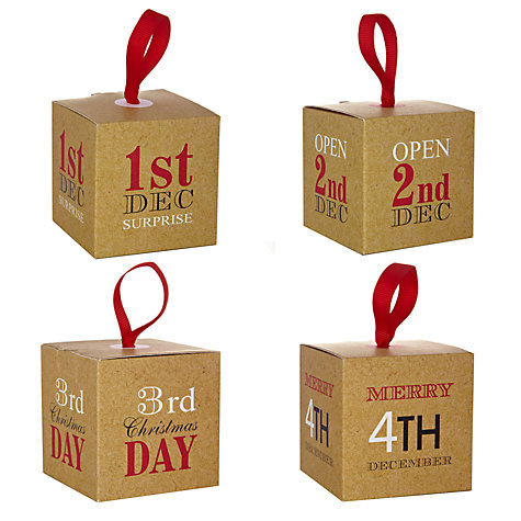 John Lewis Rural Advent Boxes