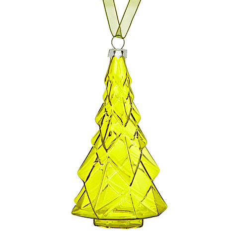 Buy House by John Lewis Glass Tree Decoration Online at johnlewis.com