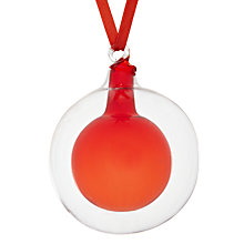 Buy House by John Lewis Ball in Glass Bauble Online at johnlewis.com