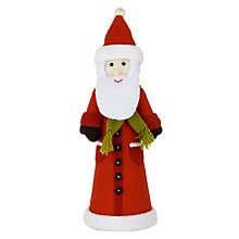 Buy John Lewis Santa Felt Tree Topper Online at johnlewis.com