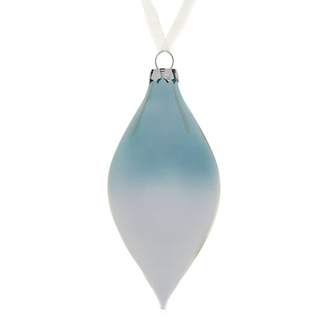 Buy John Lewis Finial Glass Tree Decoration Online at johnlewis.com