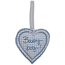 Buy Baby Boy Keepsake Token, Blue Online at johnlewis.com