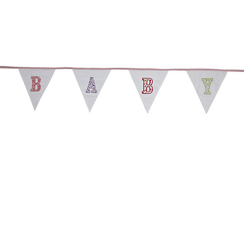 Buy Baby Bunting, Pink Online at johnlewis.com