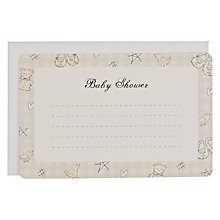 Buy Baby Shower Notecards, Neutral Online at johnlewis.com
