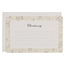 Buy Christening Notecards, Neutral Online at johnlewis.com