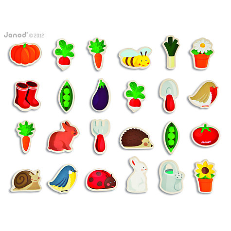 Buy Janod Garden Magnets Online at johnlewis.com