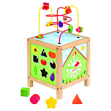 Buy Janod Garden Maxi-Activity Cube Online at johnlewis.com