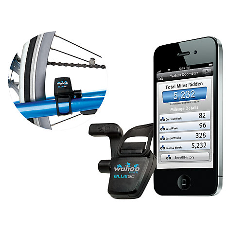 Buy Wahoo Fitness Blue SC Speed and Cadence Sensor Online at johnlewis.com