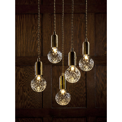 Buy Lee Broom Czech Crystal Bulb and Pendant Online at johnlewis.com