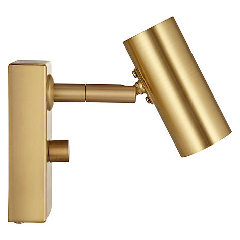 Buy John Lewis Clarke LED Spotlight, Brass Online at johnlewis.com