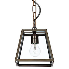 Buy Davey Quad Pendant, Small, Black Online at johnlewis.com