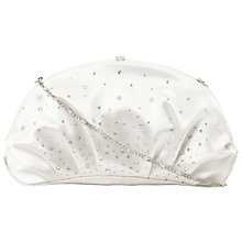Buy Dune Bliss Satin Diamanté Clutch Bag Online at johnlewis.com