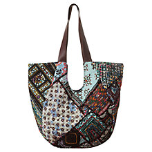 Buy East Vintage Patchwork Shopper, Multi Online at johnlewis.com