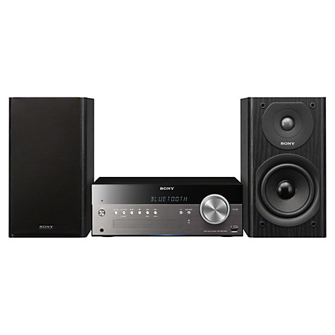 Buy Sony CMT-SBT300 DAB/FM/CD Bluetooth Micro System with NFC, Wi-Fi and Apple AirPlay Online at johnlewis.com
