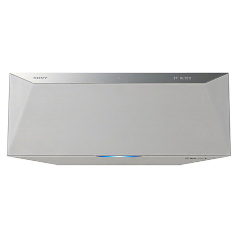 Buy Sony CMT-BT80W DAB/FM/CD Bluetooth Micro System with NFC, Wi-Fi and Apple AirPlay Online at johnlewis.com