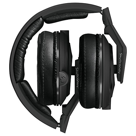 Buy Skullcandy Mix Master Full Size Headphones with Mic/Remote, Matte Black Online at johnlewis.com