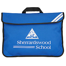 Buy Sherrardswood School Unisex Book Bag, Royal Blue Online at johnlewis.com