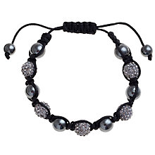 Buy John Lewis Five Ball Black Diamond Bracelet Online at johnlewis.com