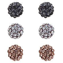 Buy John Lewis Shambala Pack of Three Earring Set Online at johnlewis.com