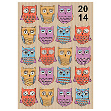 Buy Letts Owl Flexi 2014 Diary Online at johnlewis.com