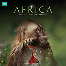Buy BBC Earth Africa 2014 Wall Calendar Online at johnlewis.com