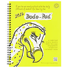 Buy Dodo 2014 Personal Organiser Online at johnlewis.com