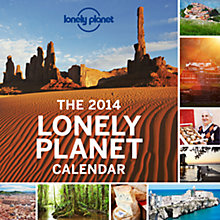 Buy Lonely Planet 2014 Wall Calendar Online at johnlewis.com