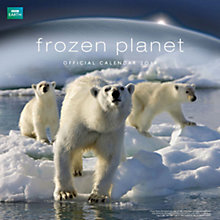 Buy BBC Earth Frozen Planet 2014 Calendar Online at johnlewis.com