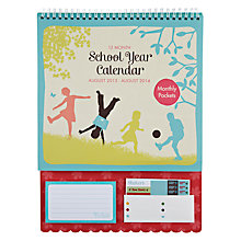 Buy K TWO School Year Calendar 2013 - 2014 Online at johnlewis.com