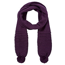Buy John Lewis Novelty Pom Pom Scarf Online at johnlewis.com