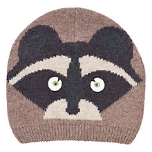 Buy John Lewis Novelty Raccoon Beanie, Toast Online at johnlewis.com