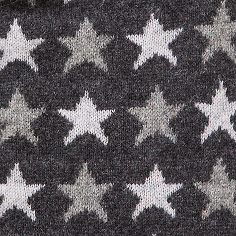 Buy John Lewis Tech Star Scarf, Grey Online at johnlewis.com