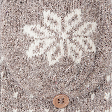 Buy John Lewis Tech Fairisle Dot Gloves Online at johnlewis.com