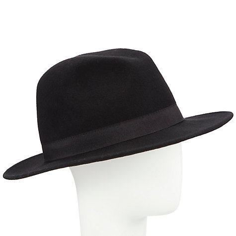 Buy John Lewis Italian Felt Fedora Hat Online at johnlewis.com