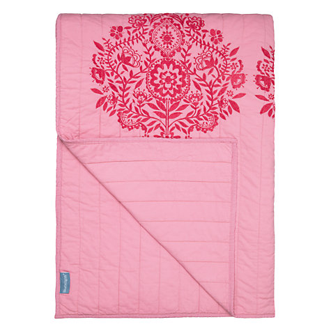 Buy Bluebellgray Catriona Bedspread, Pink Online at johnlewis.com