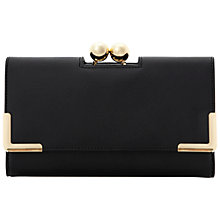 Buy Dune Kagenplain Ball Clasp Fold Over Purse Online at johnlewis.com