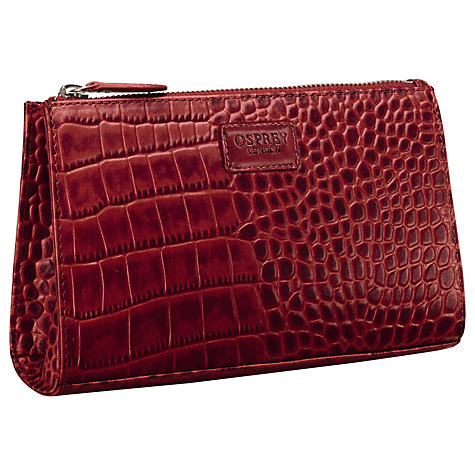 Buy OSPREY LONDON Belle Make-Up Bag Online at johnlewis.com