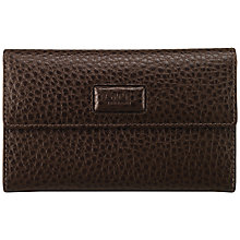 Buy OSPREY LONDON Regal Medium Purse, Chocolate Online at johnlewis.com