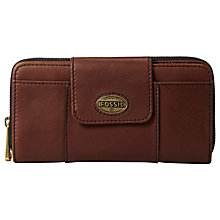 Buy Fossil Explorer Flap Clutch Purse Online at johnlewis.com