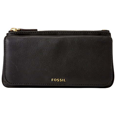 Buy Fossil Memoir Zip Clutch Purse Online at johnlewis.com