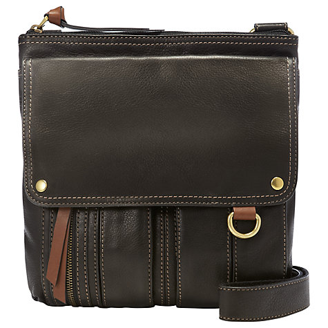 Buy Fossil Morgan Traveller Shoulder Bag Online at johnlewis.com