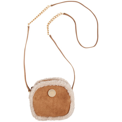 Buy UGG Quinn Box Zip Cross Body Bag Online at johnlewis.com